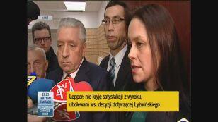 Obrońca Andrzeja Leppera o decyzji sądu apelacyjnego