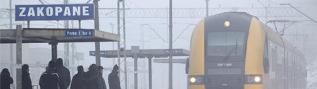 Od marca do Zakopanego  nie dojedziesz pociągiem