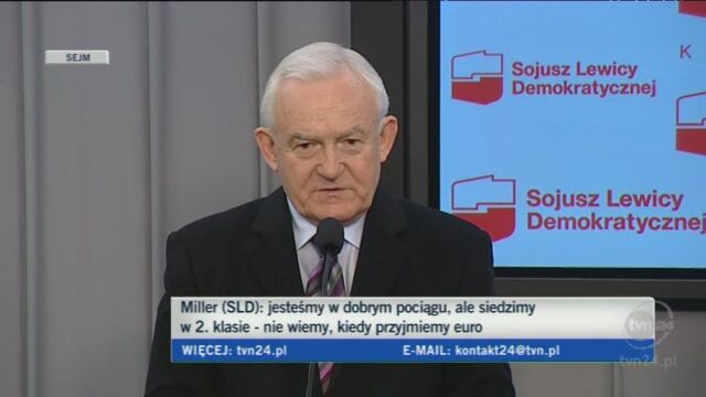 Miller o szczycie UE (TVN24)