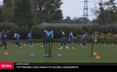 Tottenham gotowy na Łudogorec