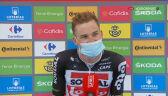 Wellens po wygraniu 14. etapu Vuelta a Espana
