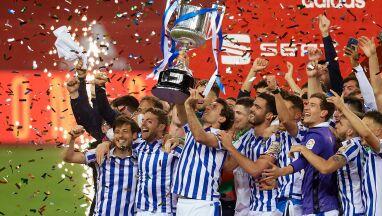 Na finał czekali 350 dni. Real Sociedad z Pucharem Króla za ubiegły sezon