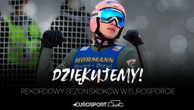 Miliony widzów w rekordowym sezonie skoków narciarskich w Eurosporcie