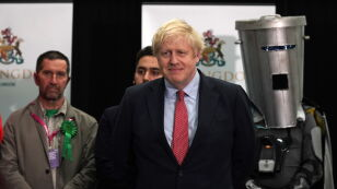 Ogłoszono wyniki w okręgu premiera Borisa Johnsona