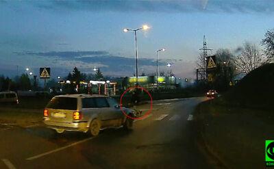 Niebezpieczna sytuacja na przejsciu dla pieszych w Gorzowie Wielkopolskim