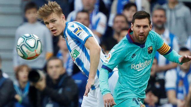 Barcelona potknęła sięw Kraju Basków. Szansa dla Realu