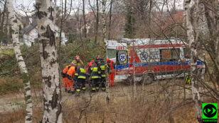 Wypadek podczas szkolenia nurków.  46-latka w szpitalu