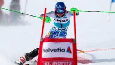 Wygrana o czubek narty. Petra Vlhova zwycięska w finale slalomu równoległego