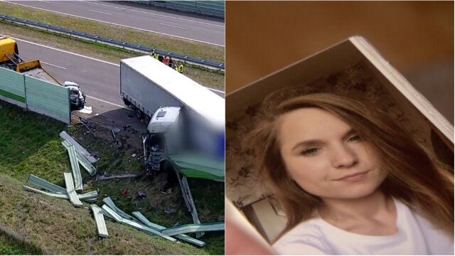 Marta się zatrzymała, kierowca tira nie zareagował. Są zarzuty po tajemniczej tragedii na autostradzie