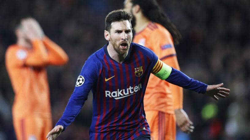 Pierwszy taki mecz Messiego.
