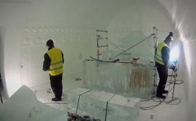 Hotel z lodu. W jego stworzenie miał swój wkład Polak