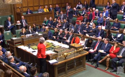 Izba Gmin odrzuciła porozumienie ws. brexitu