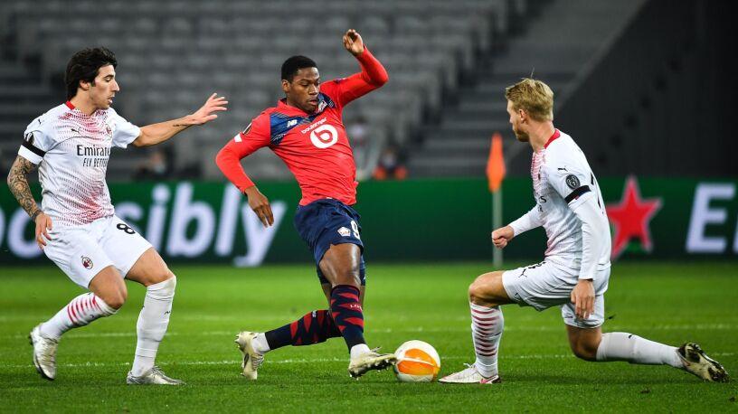 Jeden gol to za mało. Milan nie zachwycił w Lille