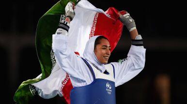 Medalistka olimpijska ze statusem uchodźcy.