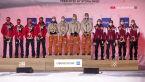 Ceremonia medalowa po konkursie drużynowym w MŚ