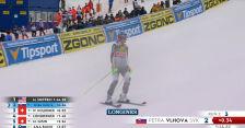 Vlhova spadła na drugie miejsce w slalomie w Jasnej