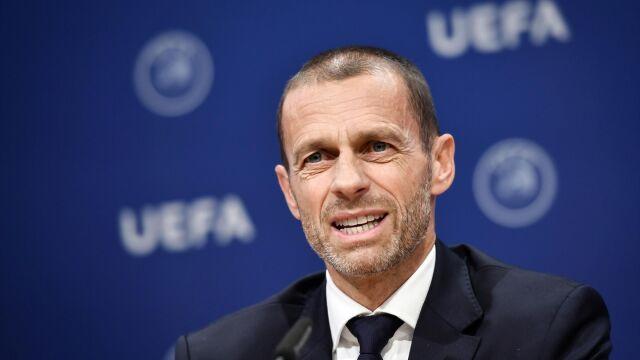 """Wielki optymizm szefa UEFA. """"Stara, dobra piłka z kibicami szybko wróci"""""""