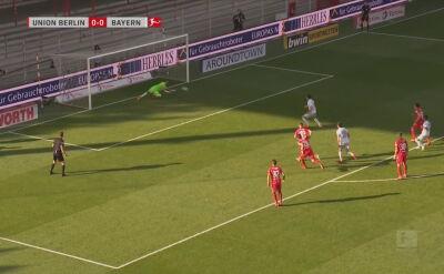 Gol Roberta Lewandowskiego w meczu Union Berlin - Bayern