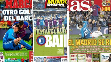 Hiszpańska prasa po El Clasico: Madryt się poddał