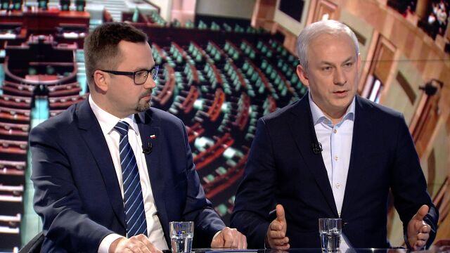 """Marcin Horała i Grzegorz Napieralski w """"Faktach po Faktach"""""""