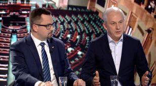 Marcin Horała i Grzegorz Napieralski w