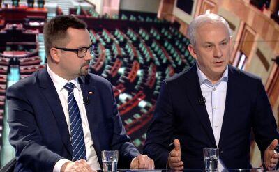 """Marcin Horała i Grzegorz Napieralski w """"Faktach po Faktach"""". Cała rozmowa"""