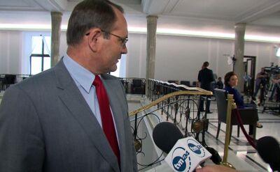 """CBA u Burego i głosowanie nad wotum to przypadek? """"Pani minister, jaka to zbieżność"""""""