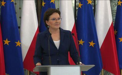 Marszałek Ewa Kopacz przedstawia porządek obrad Sejmu
