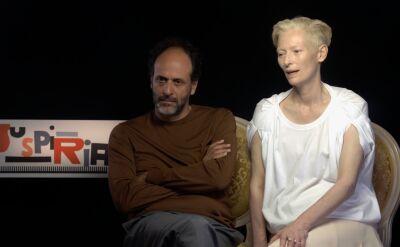 Tilda Swinton i Luca Guadagnino w rozmowie z Anną Wendzikowską