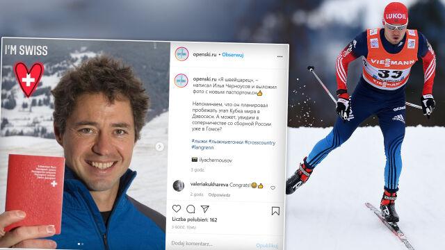 """Medalista olimpijski porzucił Rosję dla Szwajcarii. """"Jestem dumny"""""""
