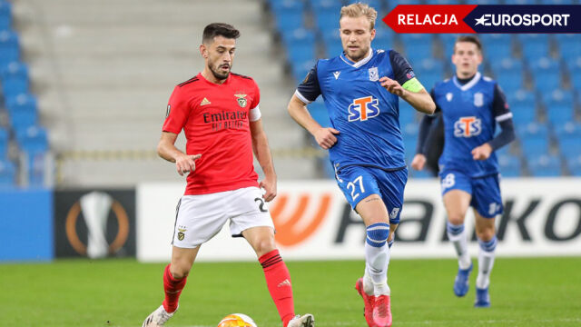 Benfica - Lech w Lidze Europy [RELACJA]