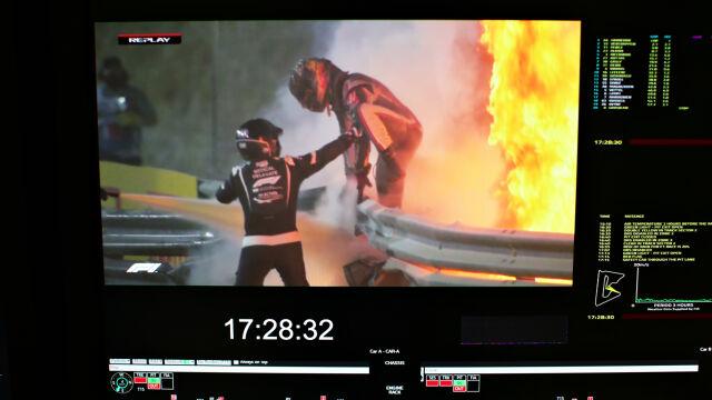 """""""Było jak w piekarniku. Wchodzić w ogień czy czekać?"""". Oni pierwsi pomogli kierowcy Formuły 1"""