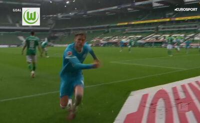 Skrót meczu Werder - VfL Wolfsburg w 30. kolejce Bundesligi