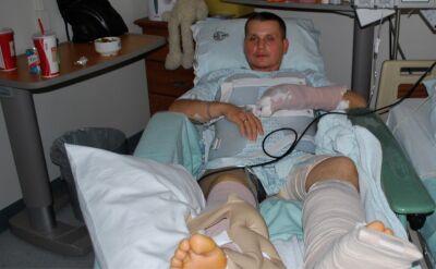 Polski żołnierz ranny podczas misji. Za rehabilitację płacił sam