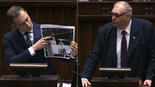 Poseł PO pokazał zdjęcie, prokurator Święczkowski się tłumaczył
