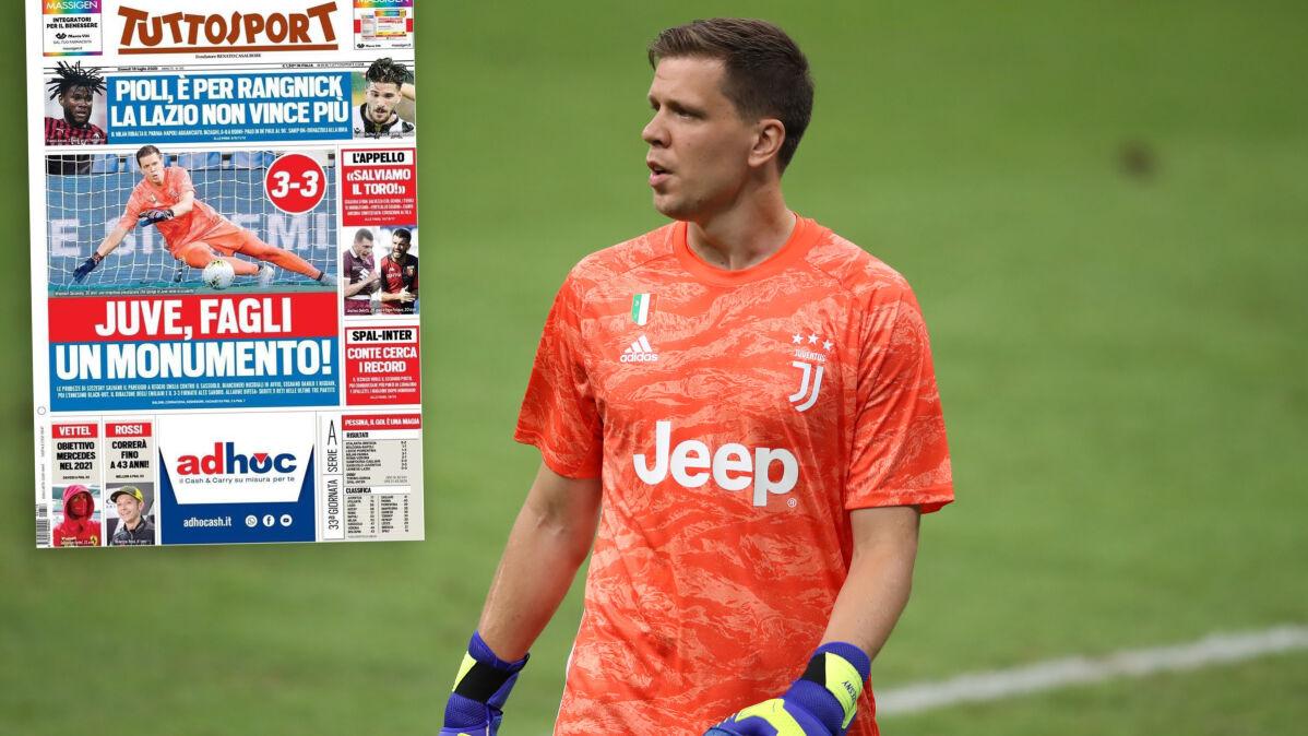 """Włosi pieją z zachwytu nad Szczęsnym: """"Juventusie, postaw mu pomnik!"""""""