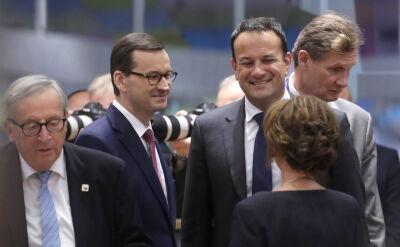 Szczyt Unii Europejskiej w Brukseli