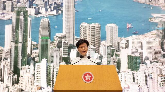 Szefowa władz Hongkongu nie traci poparcia Pekinu