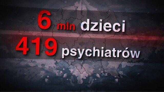 Dramatyczna sytuacja na oddziałach psychiatrii dziecięcej