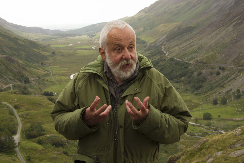 "Mike Leigh na planie ""Mr Turner"""