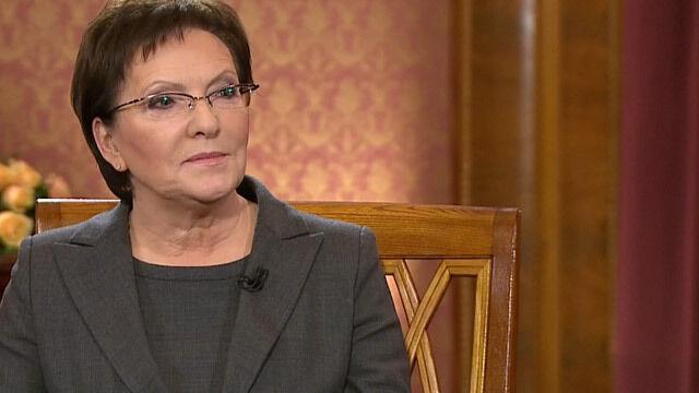 "Ewa Kopacz w ""Faktach po Faktach"""
