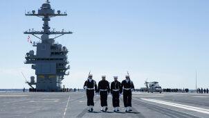 Największy okręt świata ruszył o własnych siłach. Nagranie pierwszych prób