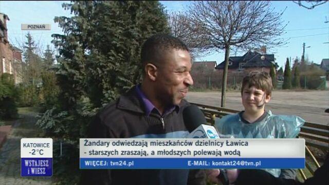Dyngus w Poznaniu (TVN24)