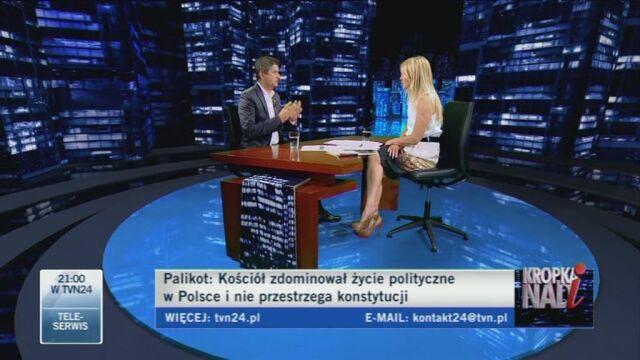 Polityk o swojej przydomowej kapliczce (TVN24)