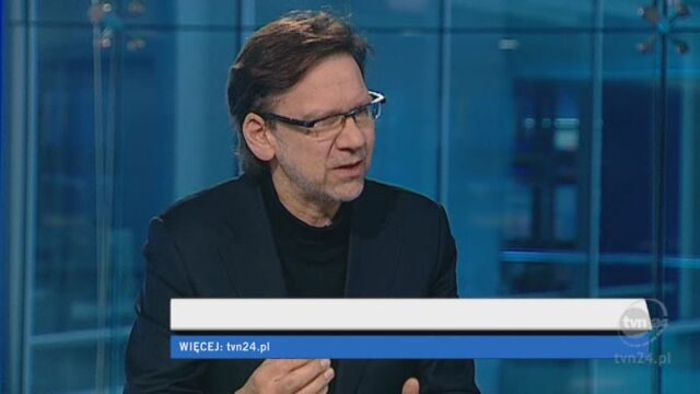 Jacek Santorski o reakcjach mieszkańców Sosnowca (TVN24)