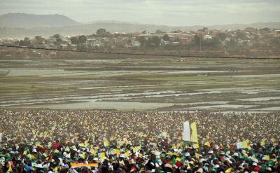 Madagaskar. Około miliona osób na mszy pod przewodnictwem papieża