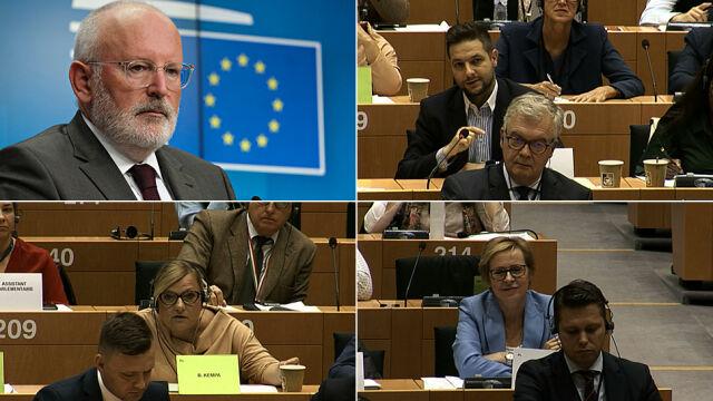 Timmermans o nazistowskich sądach, europosłanka PiS o sowieckich komisarzach
