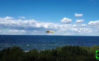 Akcja ratunkowa w Międzyzdrojach