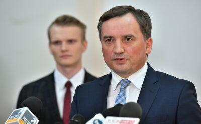 Zbigniew Ziobro został zapytany o słowa sędziego Przemysława Radzika