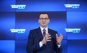 Morawiecki: opozycja bierze na siebie odpowiedzialność w kwestii Mariana Banasia